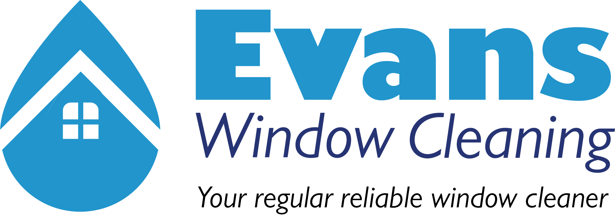 Evans Window Cleaning Logo